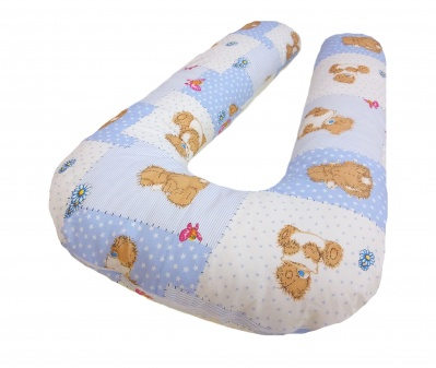 Подушка U + наволочка Bear Pillow Blue